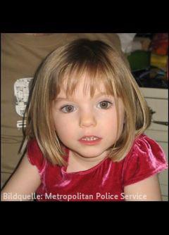 Madeleine McCann (verweist auf: Verschwinden der Madeleine McCANN am 03.05.2007 in Praia da Luz / Portugal – Zeugen gesucht)
